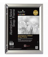 """Front Load Easy Open Snap Poster Frame/Picture Frame 24"""" x 36"""", Silver M... - $33.99+"""