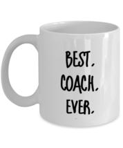 Best Coach Ever Mug - Gift For Coach - Coach Birthday Gift - Coach Christmas  - £10.63 GBP