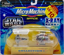 1995 Galoob / Micro Machines - Space : Star Wars X-Ray Fleet Collection 1 Rare - $12.99