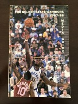 GOLDEN STATE WARRIORS BASKETBALL MEDIA GUIDE 1987-1988 CHRIS MULLIN Larr... - $3.99