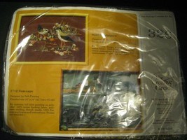 Counted Cross Stitch Kit Creative Circle Sandpipers #326 1982 Birds NIP complete - $14.84