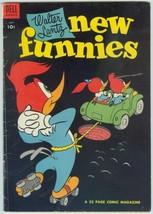 Walter Lantz New Funnies 209 Fine 5.5 Dell 1954 Woody Woodpecker Al Rosen Ad - $13.85