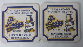 The lodge chicago coasters - $9.89