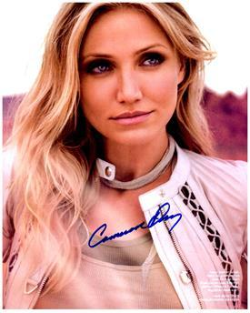 CAMERON DIAZ  Authentic Original AUTOGRAPHED SIGNED PHOTO w/ COA 1691