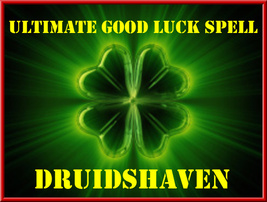ULTIMATE GOOD LUCK SPELL for POWERFUL good luck... - $39.97