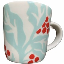 New Starbucks Taster Cup 3 Oz Holly Berry - $18.69