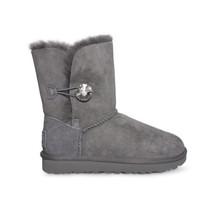Ugg Bailey Button Bling Grey Swarovsky Crystal Boots Size Us 5/UK 3.5/EU 36 New - $170.99