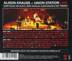 Alison Krauss & Union Station Live Cd image 2