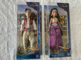 Disney Princess Jasmine Fashion Doll and Aladdin Fashion with with Abu. - $29.39