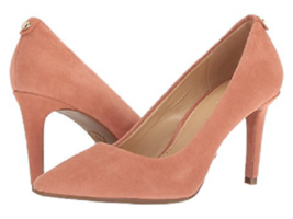 New Michael Kors Brown Leather Suede Pumps Size 8 M $98 - $54.99