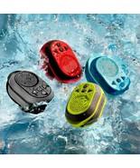 H2GO Waterproof Bluetooth Speaker w Built in Mic for shower pool hiking ... - $26.99