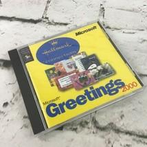 Microsoft Greetings 2000 CD, Hallmark Connections, Windows 95/98 - $9.89