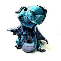 Douglas Cuddle Toy Jade Blue Dragon Plush Stuffed 729 image 5