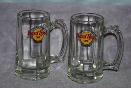 "Hard Rock Cafe CHICAGO Beer Mug Heavy Glass Stein ""SAVE THE PLANET""  6"" ... - $14.99"