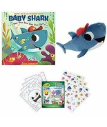 Baby Shark Little Fans Gift Set Includes The Childrens Book by John John... - $39.99