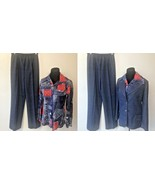 Vintage 1970s NPC Fashions 3 Pc Leisure Suit Bandana Patchwork Shirt siz... - $39.95
