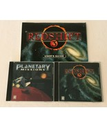 RedShift 3 and Planetary Missions CDs Set of 2 PC Computer Games Windows... - $17.99