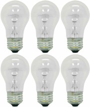 GE Appliance Light Bulb 40w A15 - (Pack of 6) - $22.99