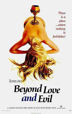 Primary image for Beyond Love And Evil - 1971 - Movie Poster