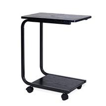 Furinno FNBJ-22032-1 B&W U-Shaped Side Table, Black - $74.51