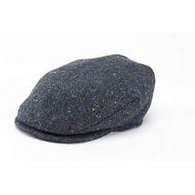 Hanna Hats Tweed Caps and Hats L, Blue-Gray - $64.04