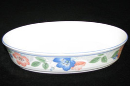 """Mikasa Intaglio 10/4"""" Large Oval Baking Dish """"Country Poppies"""" Design CAC42  Mal - $39.99"""