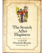 The Search After Happiness 1969 Charlotte Bronte Hardcover Dustjacket - $9.89
