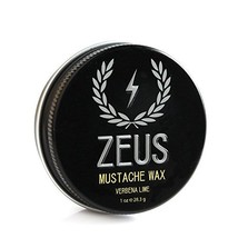 Zeus Mustache Wax - 1 Oz - Light hold, conditioning Wax for Men! Single image 1