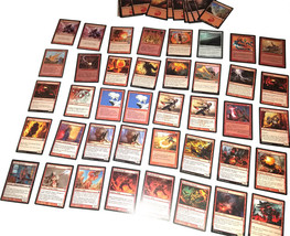 Magic the Gathering MTG Red Direct Damage / Red Burn Aggro (60) Card Deck *02 - $24.88