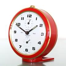 WEHRLE SANSSOUCI Softic Clock Pre-Alarm Function! Mantel Vintage SERVICE... - $259.00