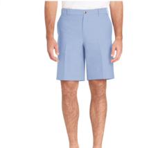 IZOD Newport Classic-Fit Oxford Stretch Shorts Mens Blue Revival Sz 42 NWT - $33.85