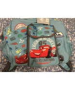 New Disney Cars Backpack with Matching Insulated Lunch Tote School - $55.42