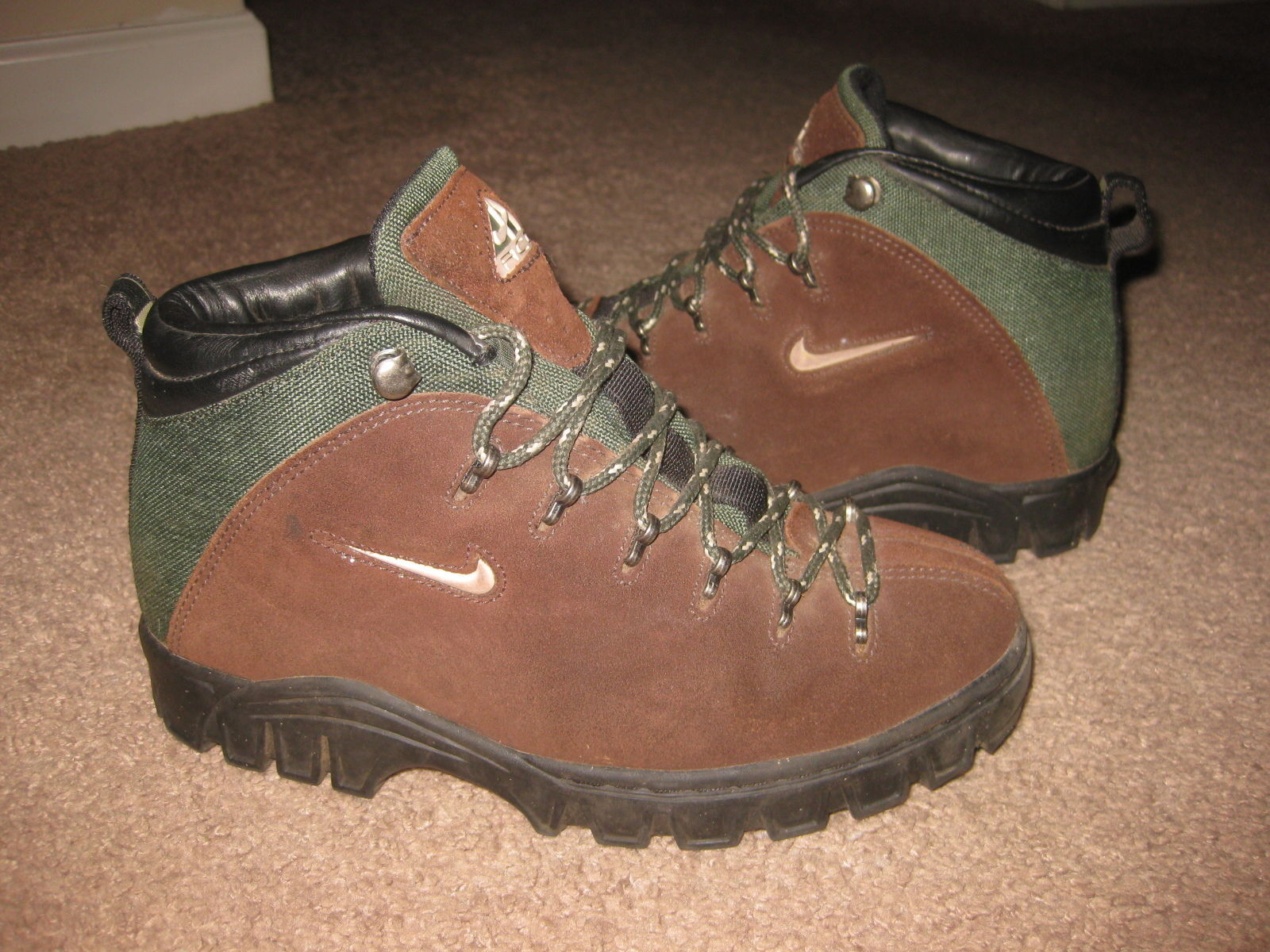 781c1106eb8 Nike Air ACG Women's Brown Suede Green and 50 similar items