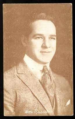 Primary image for WILLIAM RUSSEL-ARCADE CARD-1920 G