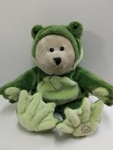 Starbucks Coffee  39th Bearista Bear Collection Plush Bear In Frog costu... - $24.49