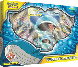 Towering Splash GX Box Pokemon TCG Magikarp & Wailord GX Collection 4 Bo... - $27.95