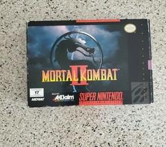 Mortal Kombat II (Super Nintendo Entertainment System, 1994) - $99.00