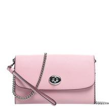Coach F21696 Turnlock Chain Crossbody bag / Wristlet / Clutch - $89.09