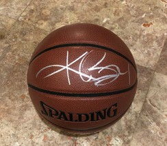 KOBE BRYANT Autographed Hand SIGNED SPALDING BASKETBALL Los Angeles LAKE... - £362.92 GBP