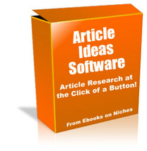Article Ideas Software W Master Resell Rights - $1.89