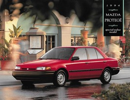 1994 Mazda PROTEGE SPECIAL VALUE edition sales brochure sheet US 94 - $6.00