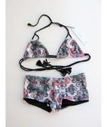 Reversible Bikini Swimsuit MGS Mary Grace Swimwear Gypsy Dreamer XS NEW ... - $67.32