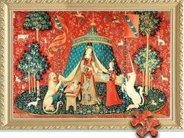 The Middle Ages The Lady And The Unicorn A Quality 500 Piece Jigsaw Puzzle - $148.49