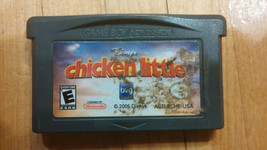 Nintendo GAMEBOY ADVANCE GAME Chicken little - $4.09