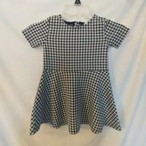 Girls H&M Black & White Print Dress SIZE 1 1/2-2 YRS - $14.03