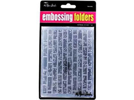 Paper Studio A2 Embossing Folders,  Please select image 10