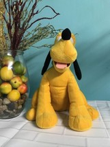 "Wait Disney World Pluto Plush 12"" Doll Stuffie Excellent - $16.40"