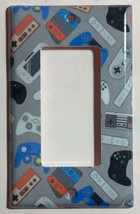 video games controller Light Switch Outlet wall Cover Plate Home Decor image 3