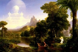 The Voyage Of Life Youth Stages Of Human Life Painting By Thomas Cole Repro - $10.96+