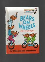 Bears on Wheels - Stan & Jan Berenstain HC 1969 Random House - Combine S... - $1.08